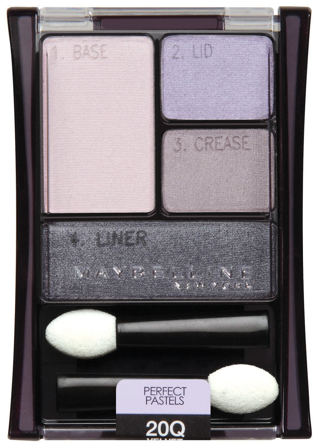 Primary image for Maybelline New York Expert Wear Eyeshadow Quads, 20q Velvet Crush Perfect Pas...