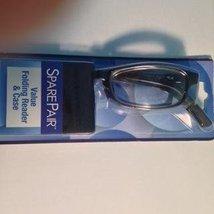 Foster Grant Value Folding Reader & Case (Gisele TOR) +2.75 Tortoise col... - $14.99