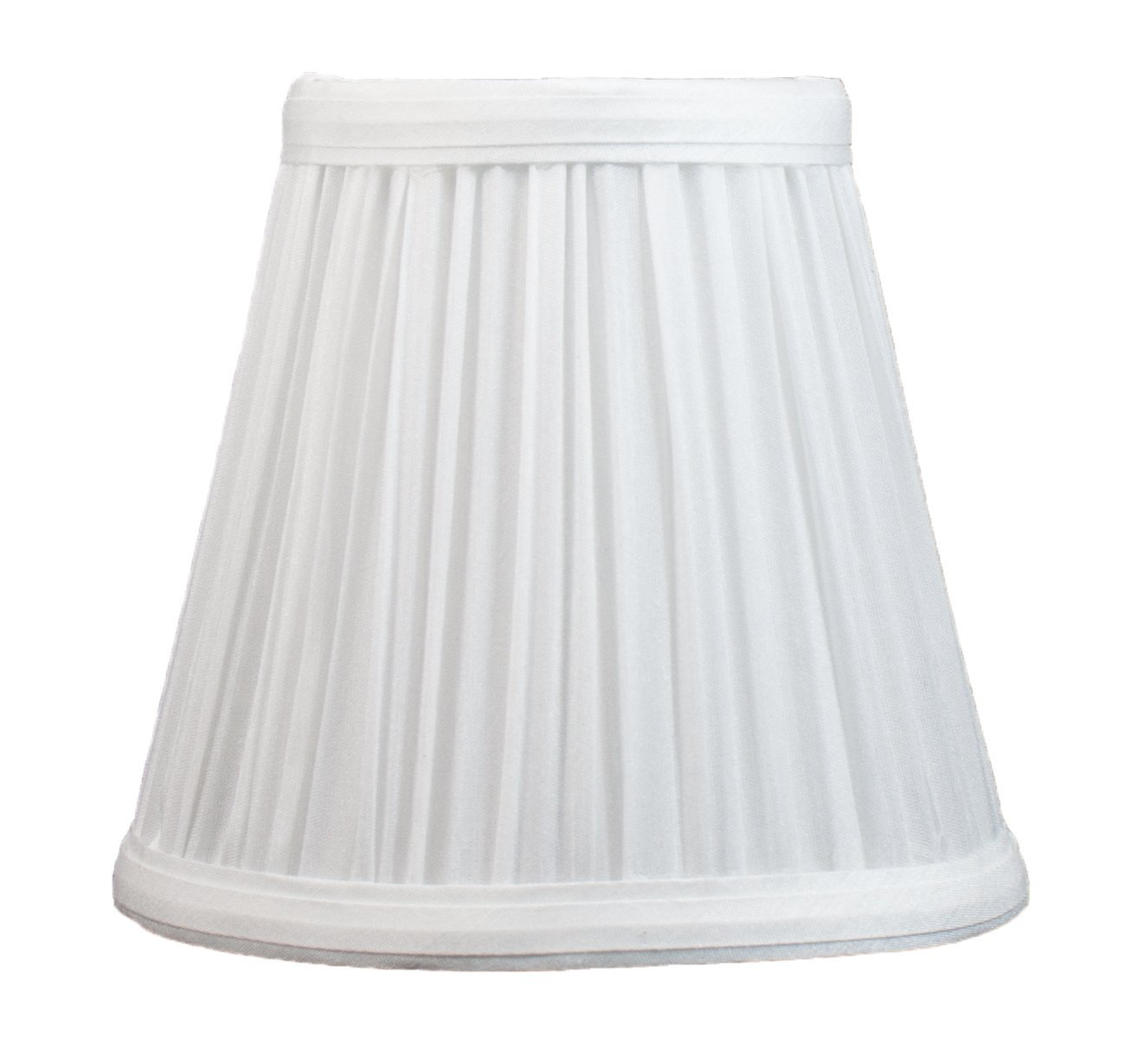 Urbanest Mushroom Pleated Chandelier Lamp Shade 3 Inch By