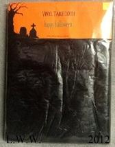 Black Vinyl Halloween Tablecloth rectangular 52 by 90 inches Spider-web Web - €3,24 EUR