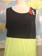 NWT Fila Sport Wicking Black Neon Yellow Sleeveless T-Shirt Size L - $14.30