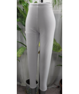 New Woman Plus Ornella Polyester Blend Solid Wh... - $19.99