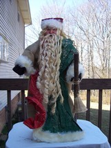 Kris Kringle Holiday Decoration  Figure   27 inches tall - $42.89