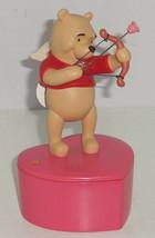 Disney Winnie Pooh Trinket Box Figurine Keepsakes From the Heart Cupid  - $69.95