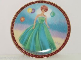 Barbie Collector Plate Senior Prom High Fashion Doll 1963 Danbury Mint V... - $59.95