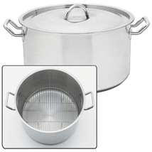 Precise Heat 42 Qt Waterless Stock Pot Stainless Steel Large Commercial ... - $199.00
