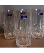 4 Waterford Crystal Marquis Hi-Ball Tumbler 12 oz Stickers in Place - $60.00