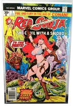 VERY POPULAR * Red Sonja #1 * Marvel Comics 1977 * Conan Spin-Off Thome Art - £43.33 GBP