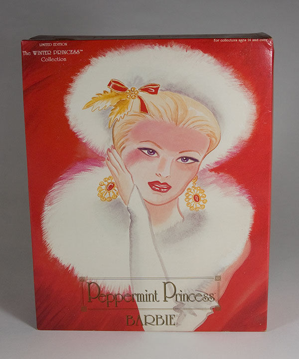 Primary image for BARBIE PEPPERMINT PRINCESS WINTER PRINCESS COLLECTION LIMITED EDITION 13598 NRFB