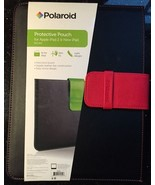 For Apple iPad 2, 3, 4, AiR ~ Case ~ BLACK & Red Protective Pouch Cover - $2.99