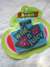 Charms Wild & Juicy Jumbo Magnet Clip Chip Snack Bag Fridge Memo Note Wa... - $7.00