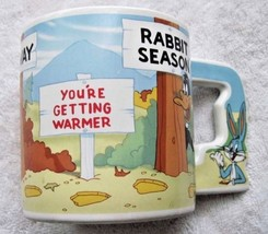 1988 Looney Tunes Story Telling Mug Bugs Bunny Character Handle Applause... - $14.00