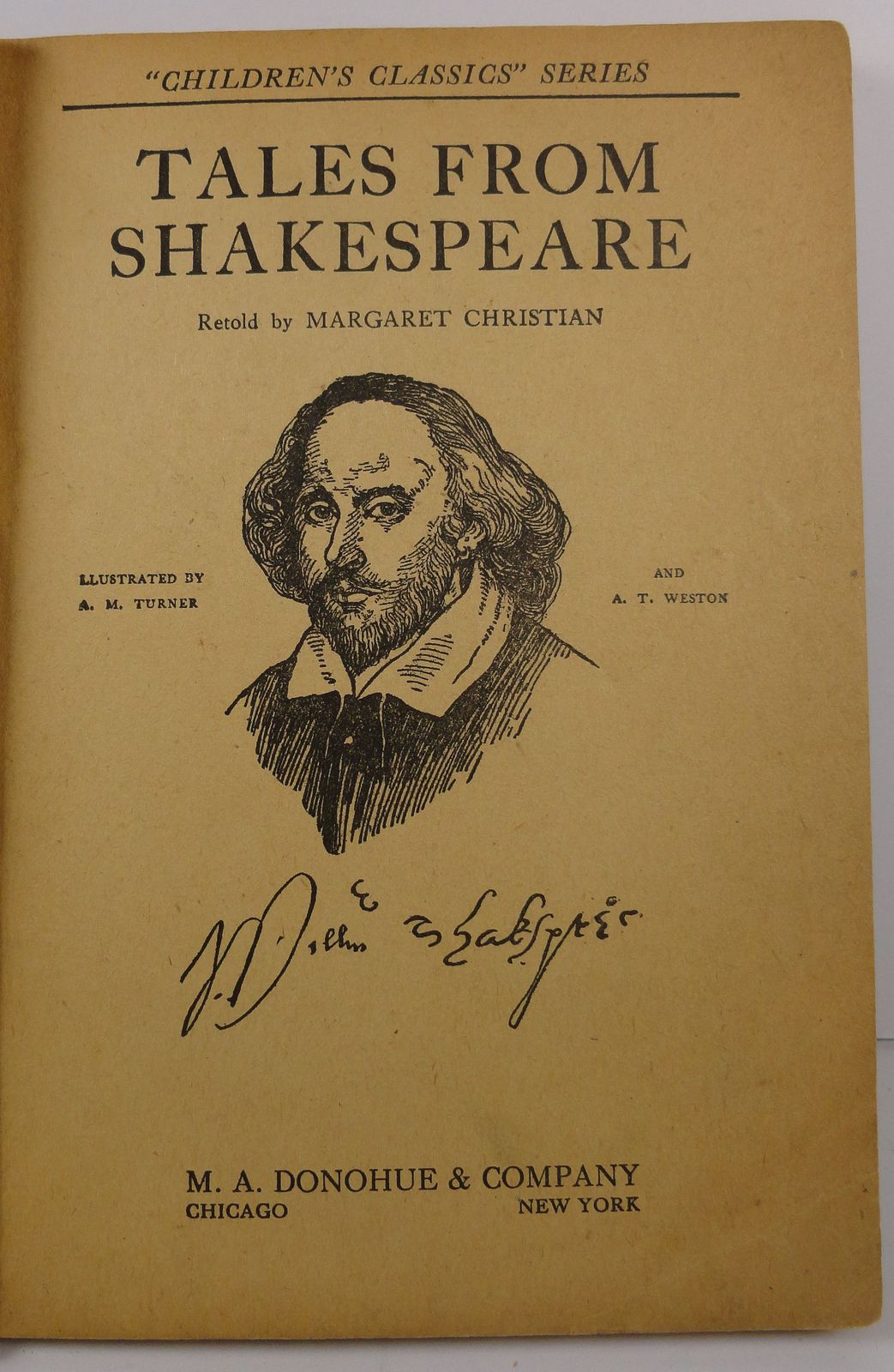 Tales From Shakespeare by Margaret Christian 1917