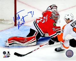 Antti Raanta Signed Chicago Blackhawks Goalie Action 8x10 Photo - $38.00