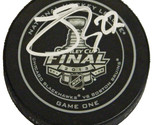 Johnny Oduya Signed Official 2013 Stanley Cup Finals Game One Hockey Puck