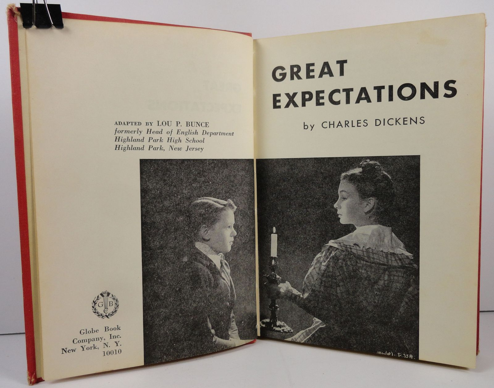 Dickens Great Expectations by Lou P. Bunce 1968 Globe