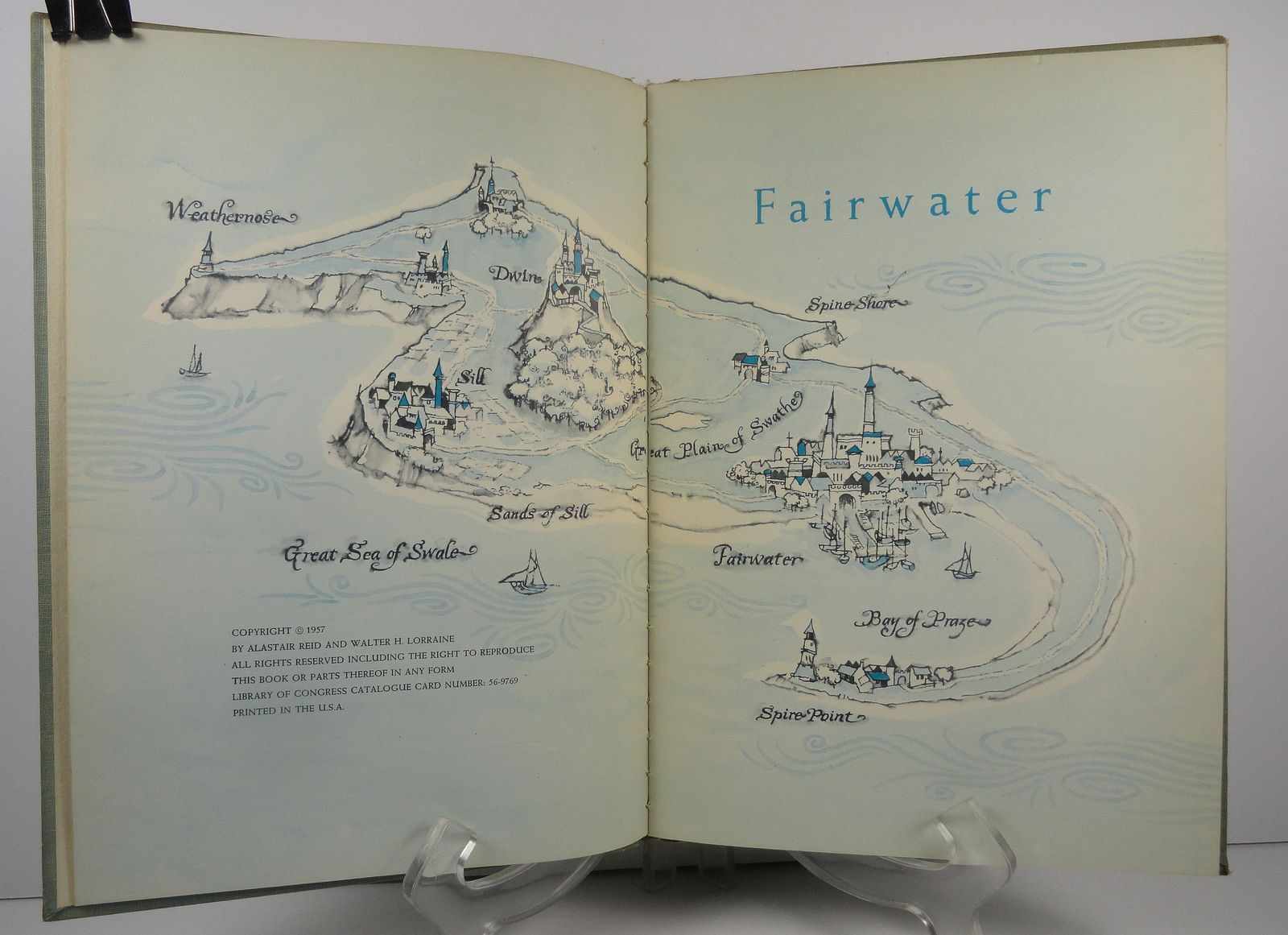 Fairwater by Alastair Reid 1957 Houghton Mifflin
