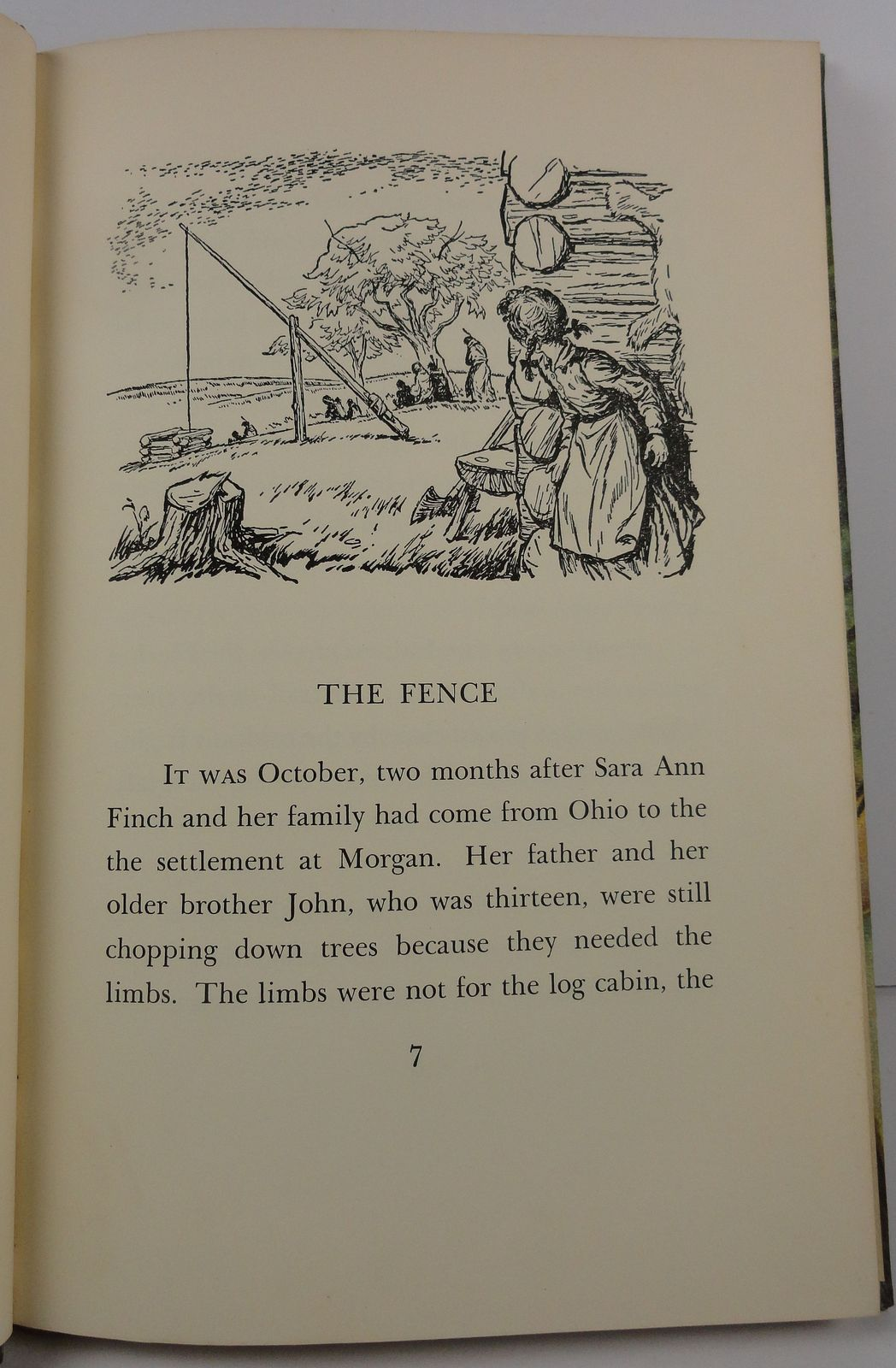 Fence Across the Trail by Elsa Falk 1957 Follett