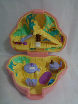 Vintage 1994 Bluebird Polly Pocket Pink Koala Pet Parade Compact - $15.35