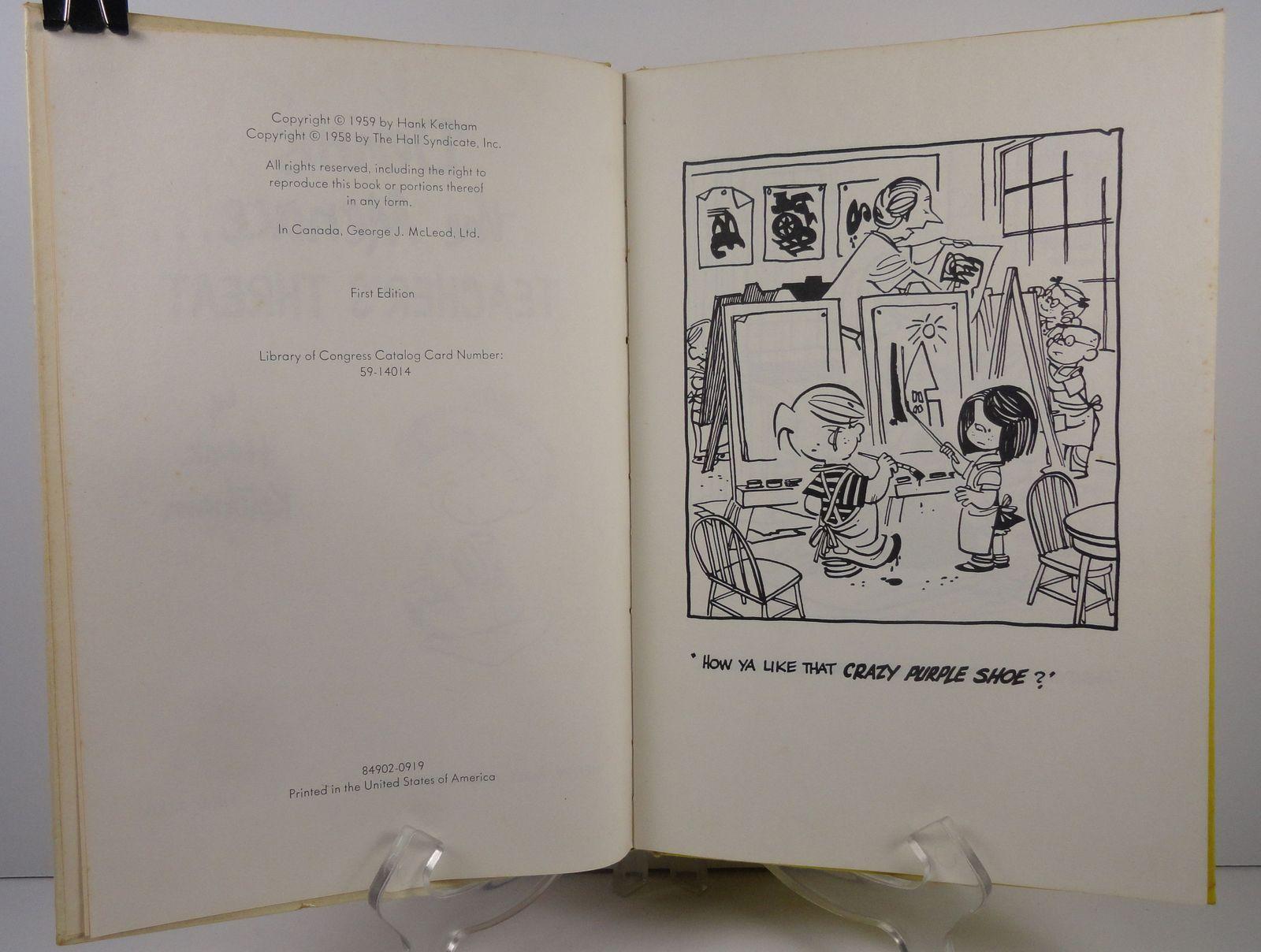 Dennis the Menace Teacher's Threat by Hank Ketcham 1959 Holt
