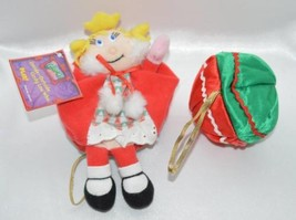 New with Tag Cindy Lou Who Grinch Stole Christmas Plush Ornament Inside ... - $8.79