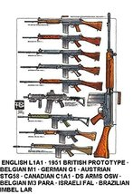 Vinteja charts of - Weapons ID Chart I - A3 Poster Print - $22.99