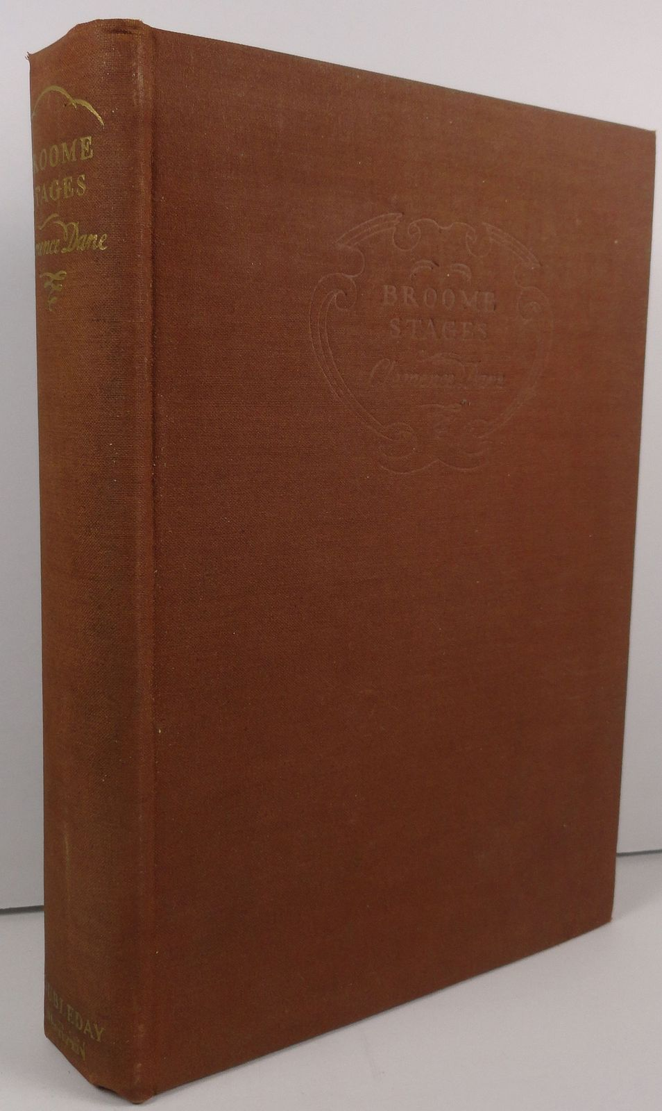 Broome Stages by Clemence Dane 1936 Doubleday, Doran