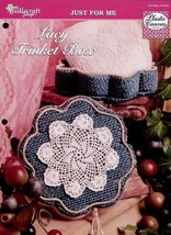 Lacy Trinket Box TNS Plastic Canvas Pattern NEW - 30 Days to Shop & Pay! - $1.32
