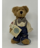 Boyd's Bears Plush Teddy T. Dean Newbearger Retired Classic Jointed Plus... - $24.74