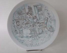 Haviland Limoges Plate Breakfast 1973 Mother's Day - $17.66