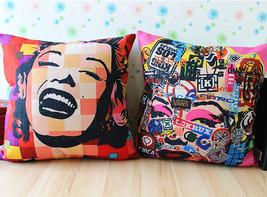 Pope Marylin Monroe Home Decor cushion Linen co... - $24.21