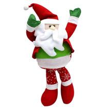 Christmas Snowman Doll Santa Claus Doll Christmas Ornaments Doll Cute Gi... - $14.02