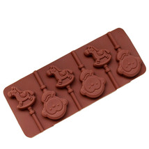 1PCS Food Grade Silicone Material Horse Monkey Shape For Chocolate Lolli... - ₨653.44 INR