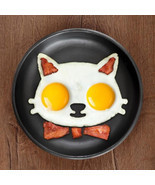 Kitchen Silicone Cats Egg Shaper Cats Fried Eggs Mould Cute Interesting ... - $9.36