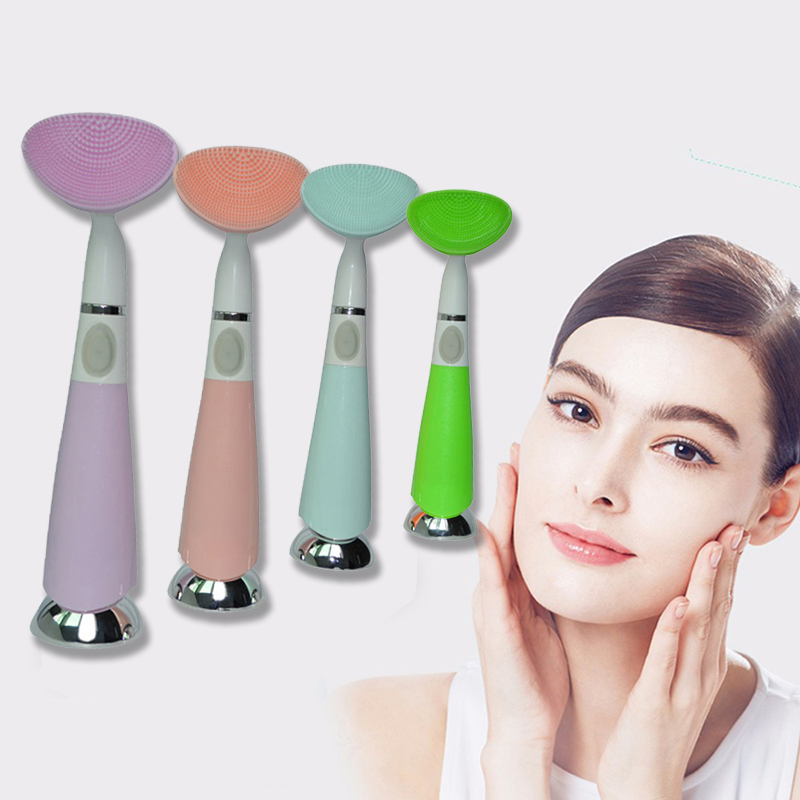 Electric Waterproof Silicone Brush Facial Cleansing