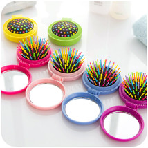 Daily Life rainbow balloon comb creative mini clamshell portable folding... - $11.44