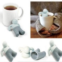 Cute Human Shape Silicone Tea Strainer Infuser Herbal Leaf Spice Filter ... - $8.99