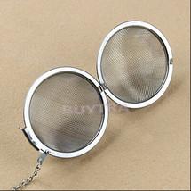 4 cm Stainless Steel Sphere Locking Spice Tea Ball Strainer Mesh Infuser... - $8.69