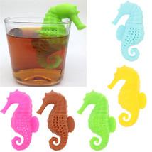 1 PC Creative Silicone Sea Horse Shape Cup Mug Tea Leaf Infusers - $9.80