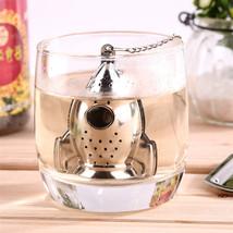 Rocket Tea Infuser Diffuser Loose Leaf Strainer Stainless Steel Spice Fi... - $9.58