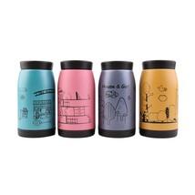 Stainless Steel Tea Water Coffee Flask Vacuum Bottle Cup Mug - $13.56