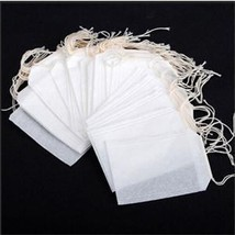 100pcs Empty Teabags String Household Herb Loose Tea Bags Tea Strainers - $10.70