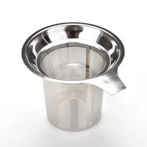 1Pcs 304 Stainless Steel Mesh Cup Reusable Strainer Herbal Locking Tea F... - $10.70
