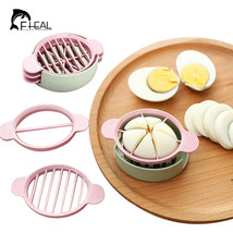 Multifunction Wheat Straw Cut Egg Slicers Tools Dividers Preserved Egg S... - €9,66 EUR