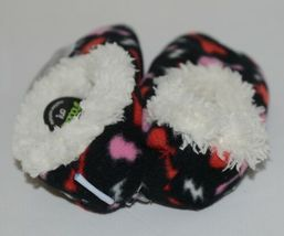 Snoozies 200199P Foot Coverings Guitars Black White Pink Red Kids 13 And 1 image 3