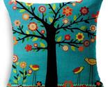 En square throw flax pillow case vintage decorative cushion cover capa de almofada thumb155 crop