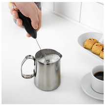 Cordless Coffee Milk Frother Cream Foamer Latte... - $8.91