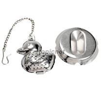 ASLT Duck Shape Stainless Steel Infuser Filter Strainer Tea Ball Spoon - $8.99