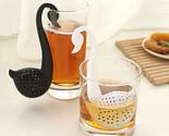 L black white swan tea strainer eco friendly nontoxic tea filter daily necessities thumb155 crop