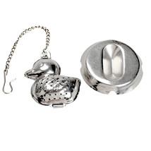 1PCS Tea Spice Ball Spoon Duck Shape Stainless ... - $9.73